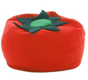 Tomato Bean bag :  bean bag decor seating kids